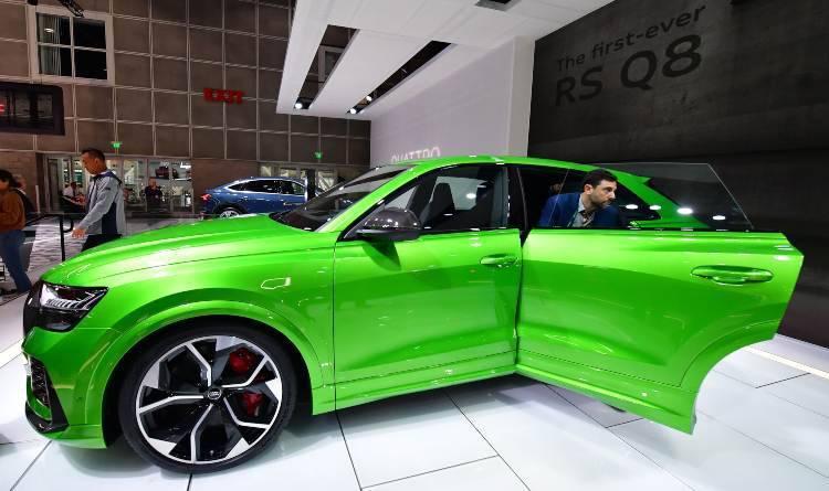 Audi RS Q8: Equipaggiamento