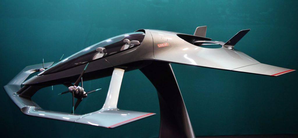 """Ecco la prima """"auto volante"""" targata Aston Martin"""