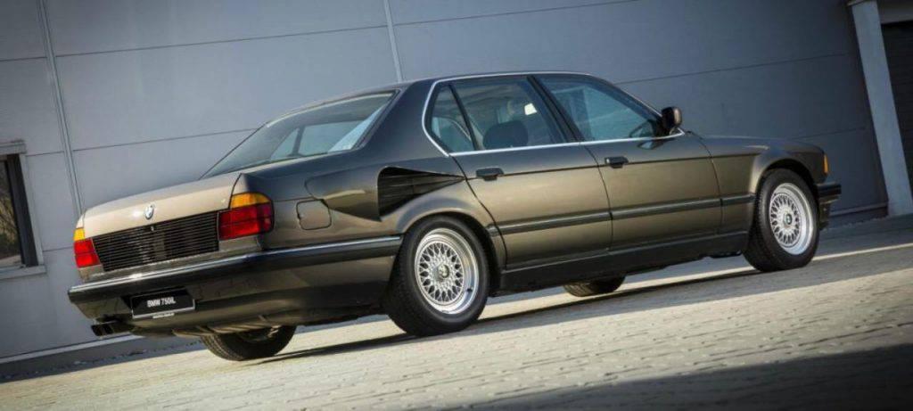 L'incredibile storia di questa BMW serie 7