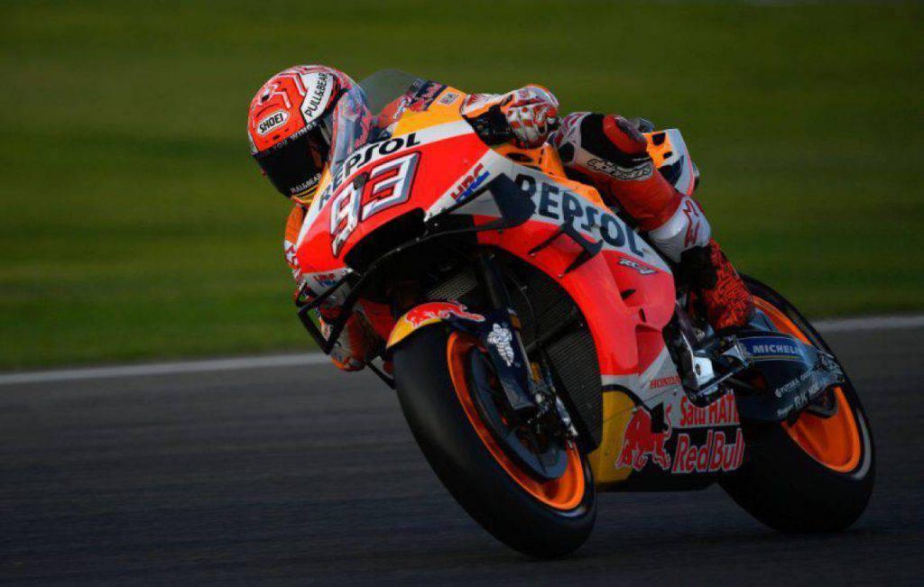 MotoGP, Marquez analizza i test di Valencia