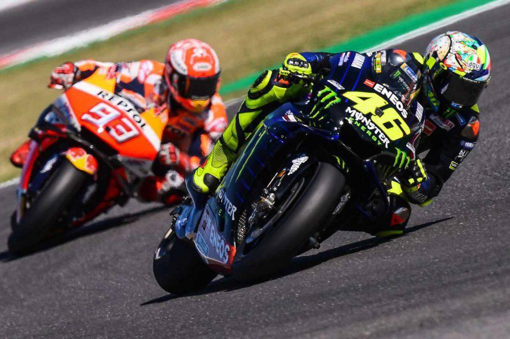 Marquez vs Rossi: chi è il più grande?