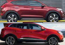 Renault Kadjar vs Hyundai Tucson Mild-Hybrid
