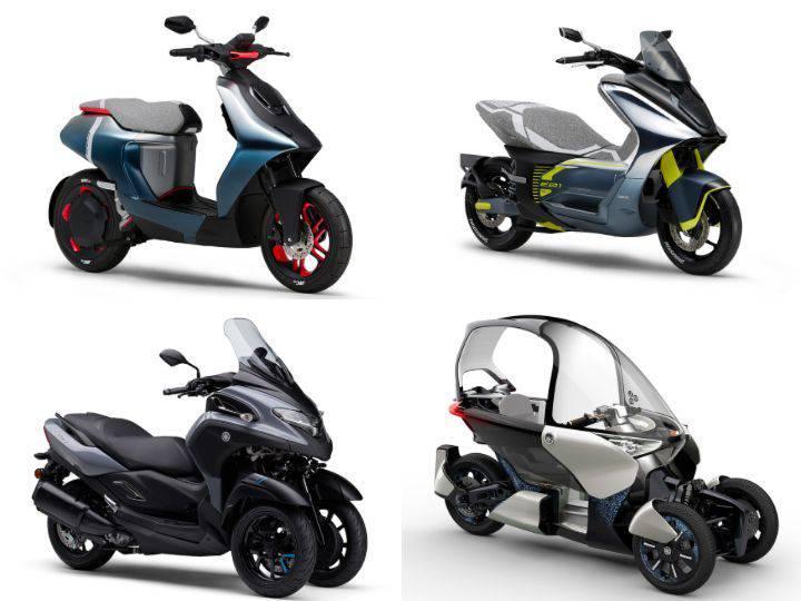 scooter elettrici Yamaha