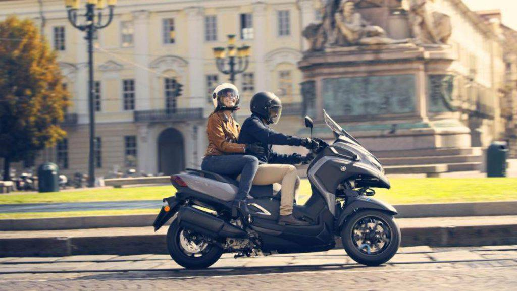 EICMA, presentato il nuovo Yamaha Tricity 300