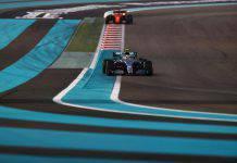 Bottas test Abu Dhabi