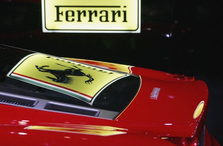Ferrari senza patente