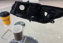Pezzi di ricambio auto dal caffè