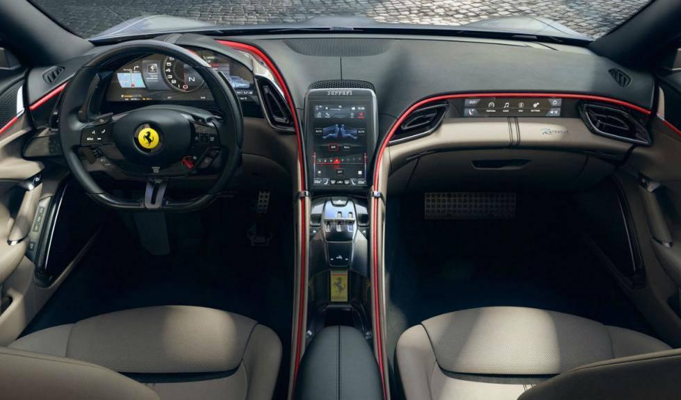 Ferrari Roma interni