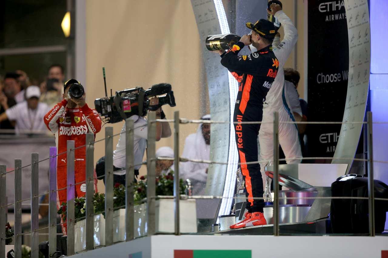 Gp Abu Dhabi podio