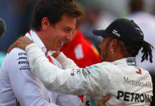 Lewis Hamilton Toto Wolff