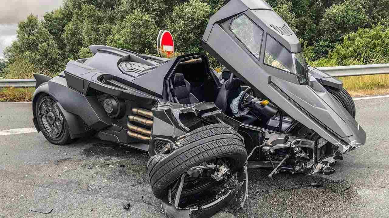 Lamborghini Batmobile