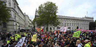 Manifestanti Gretini