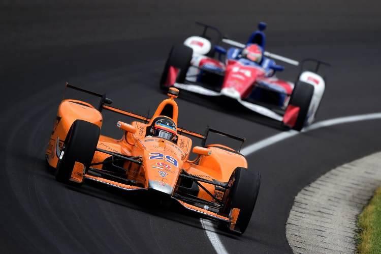 Alonso 500 miglia di Indianapolis