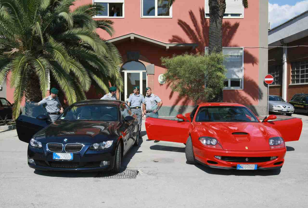Barzellette auto Ferrari BMW