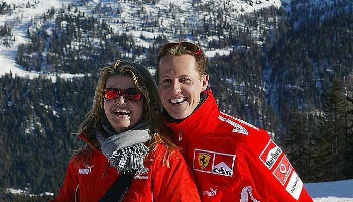 Michael Schumacher e la moglie Corinna