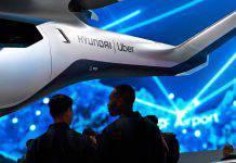 Taxi volante elettrico Uber Hyundai