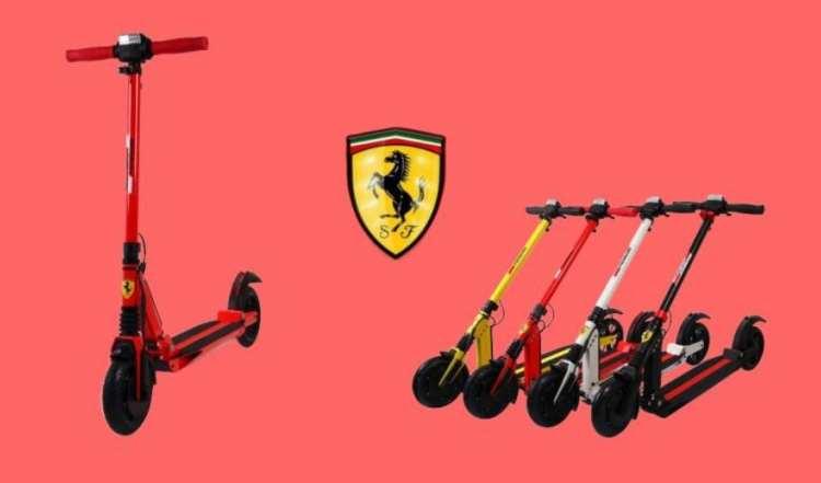 Il monopattino elettrico della Ferrari