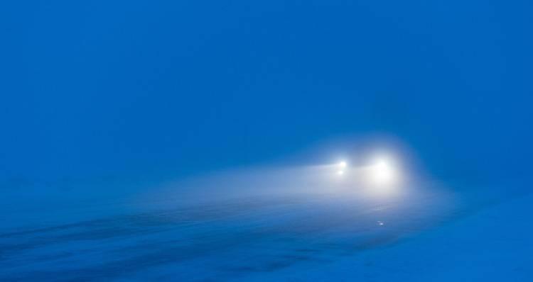 Auto e nebbia