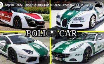 auto della polizia dubai
