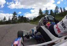 Kart vs Ferrari Dolomiti
