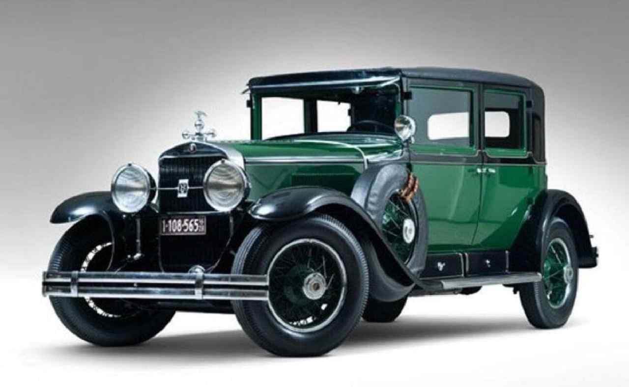 Cadillac Town Sedan V8 del 1928 di Al Capone