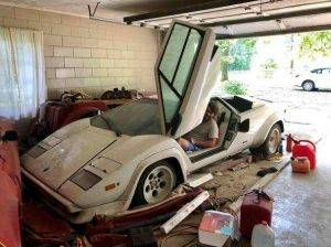 Lamborghini Countach ereditata