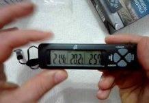 Termometro Digitale Auto