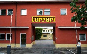Coronavirus Ferrari