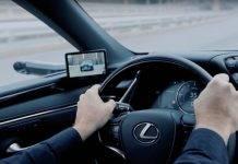 schermi elettrici lexus