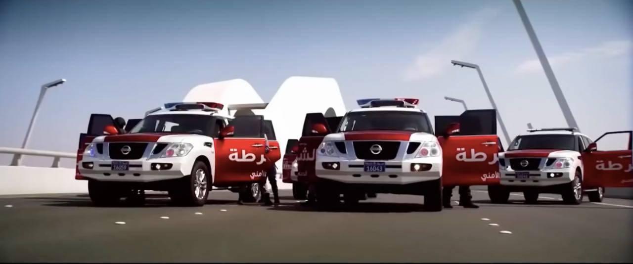 abu dhabi polizia emirati arabi