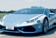 lamborghini huracan polizia veicolo segreti