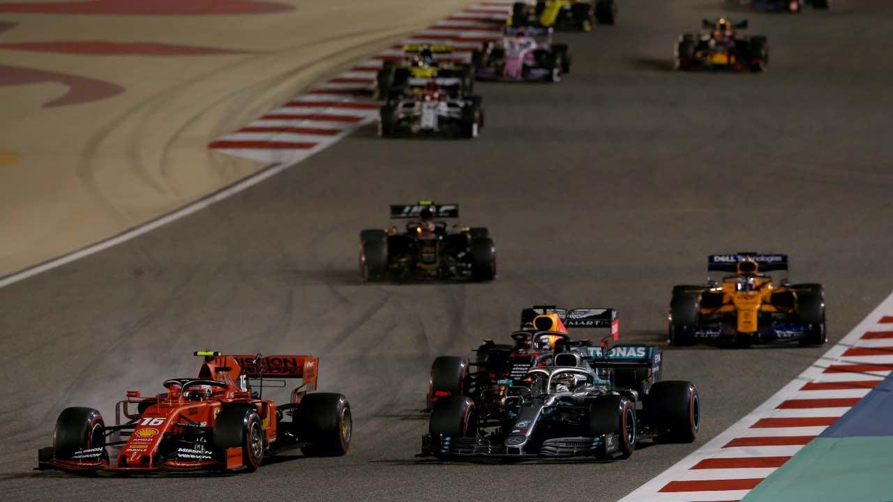 gp bahrain porte chiuse formula 1
