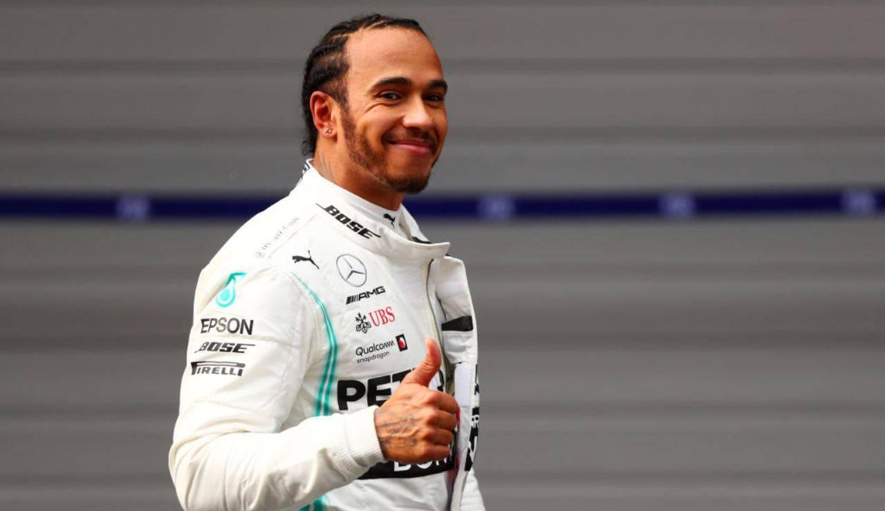 Hamilton Formula 1 Coronavirus