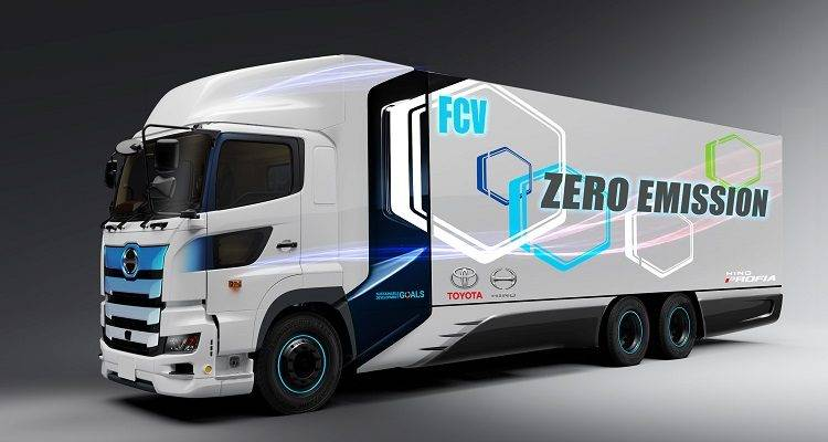 Camion idrogeno Toyota Hino Motors