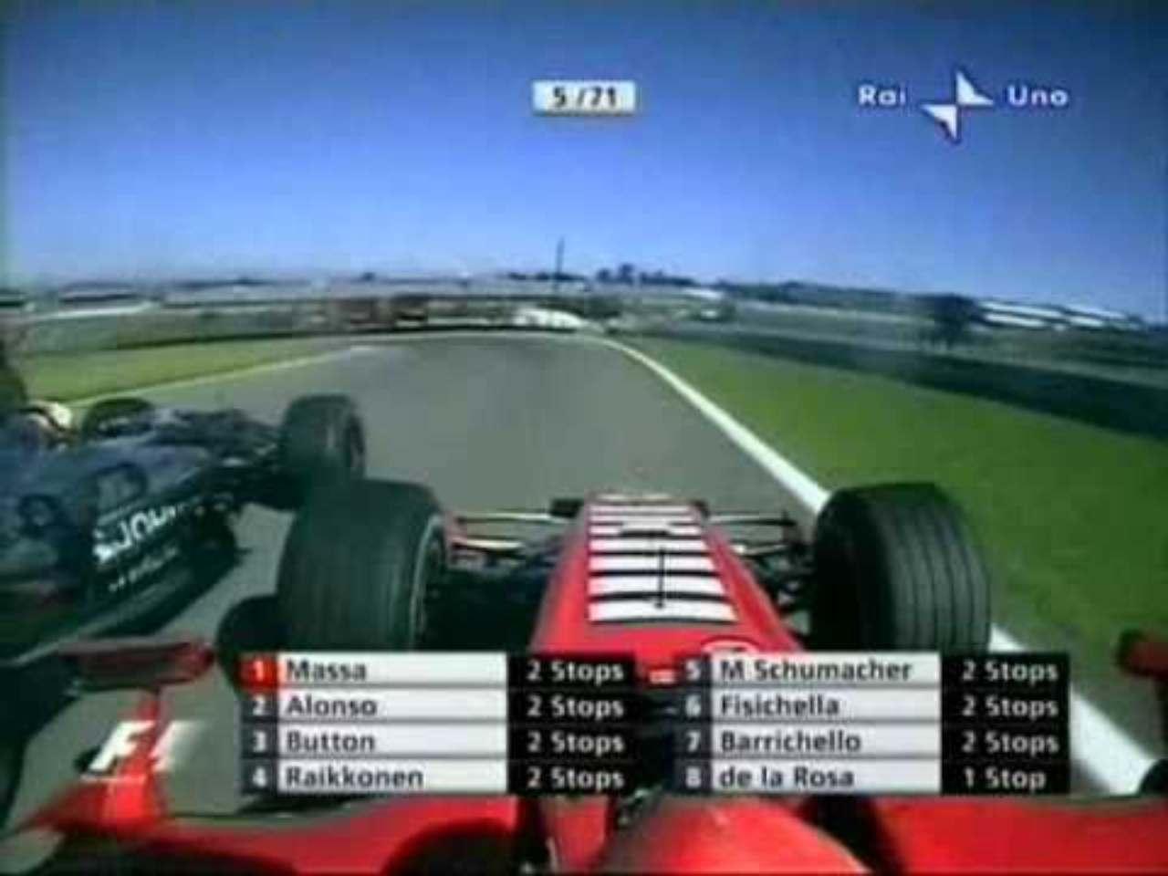 Schumacher Brasile 2006