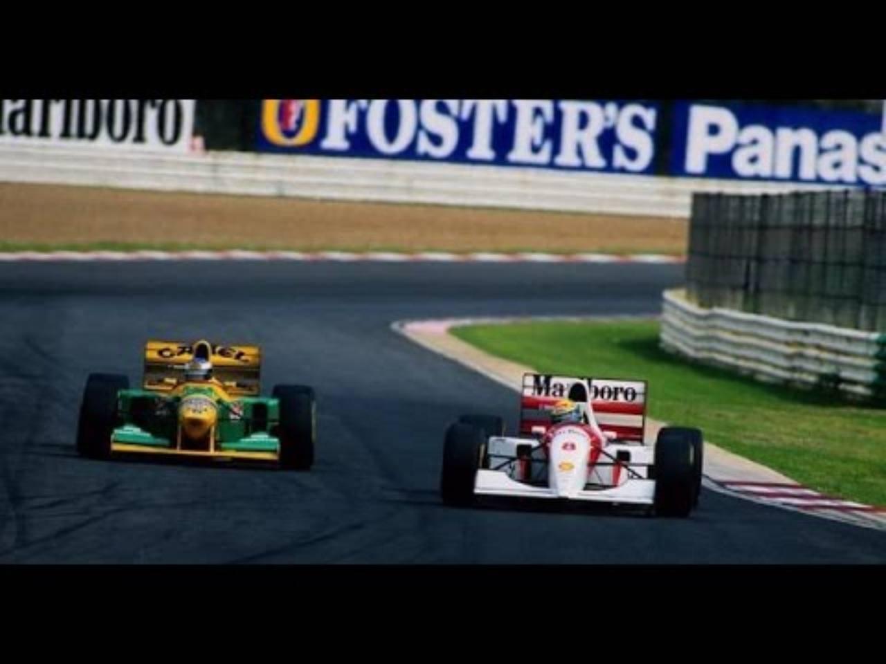 Schumacher-Senna