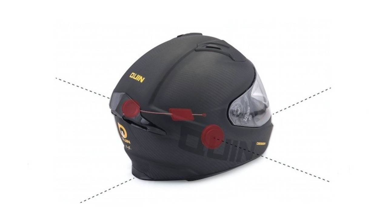 Intelliquin Casco Moto
