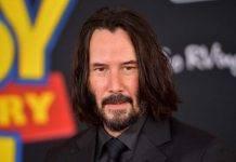 Keanu Reeves moto