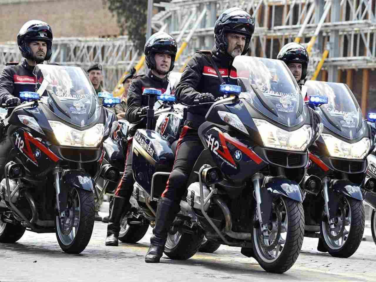 Moto BMW Carabinieri