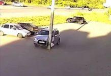 Parcheggio incidente