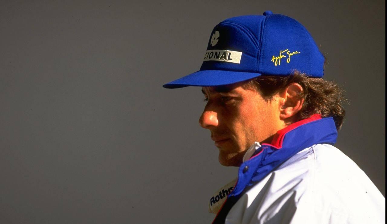 Montezemolo Senna Ferrari
