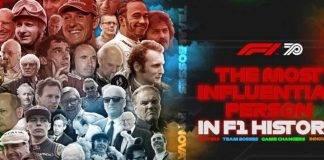 f1 personaggio influente