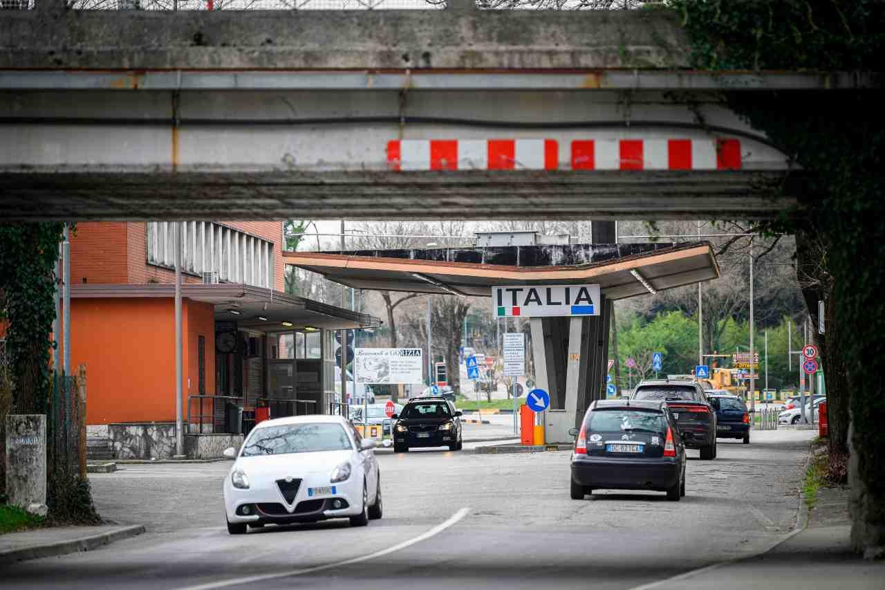 Confine Slovenia Italia