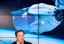 Elon Musk film nello spazio