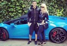 Mauro Icardi e Wanda Nara, le supercar nel garage dell'argentino