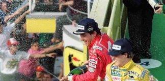Schumacher e Senna