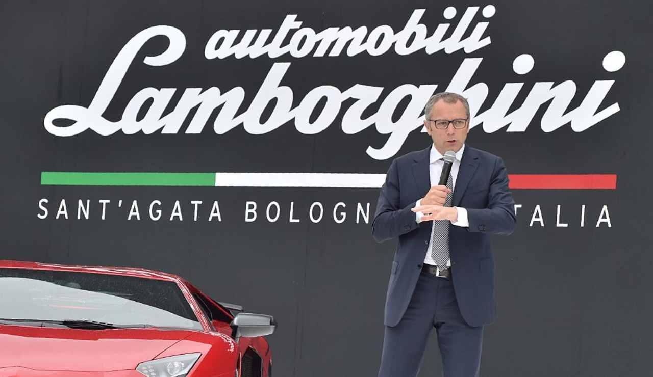 Stefano Domenicali Yacht Lamborghini