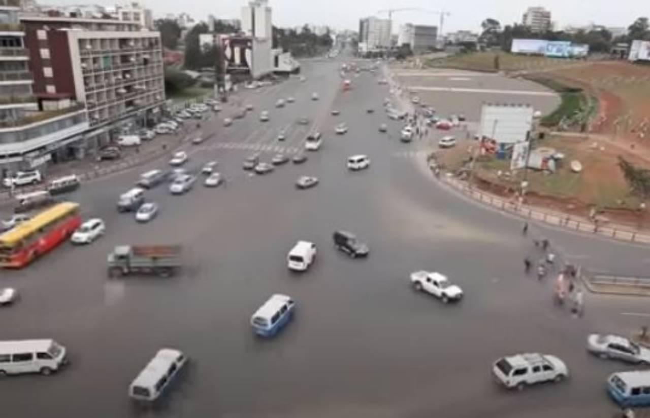 Incrocio Addis Abeba