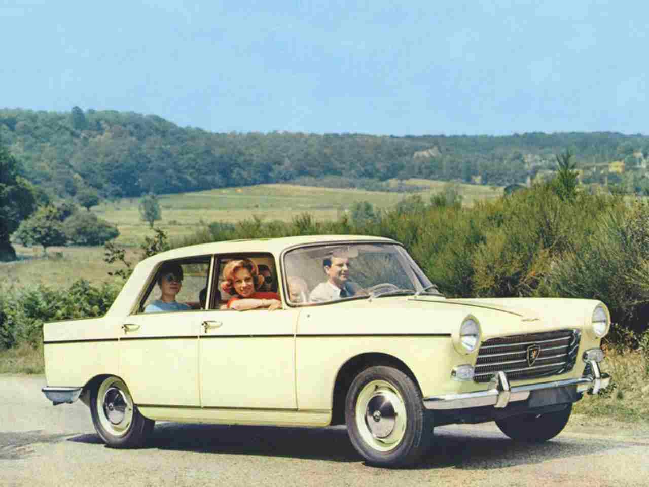 L'evoluzione della Peugeot 404