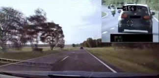 BMW 3, inseguimento con incidente in Ungheria - video